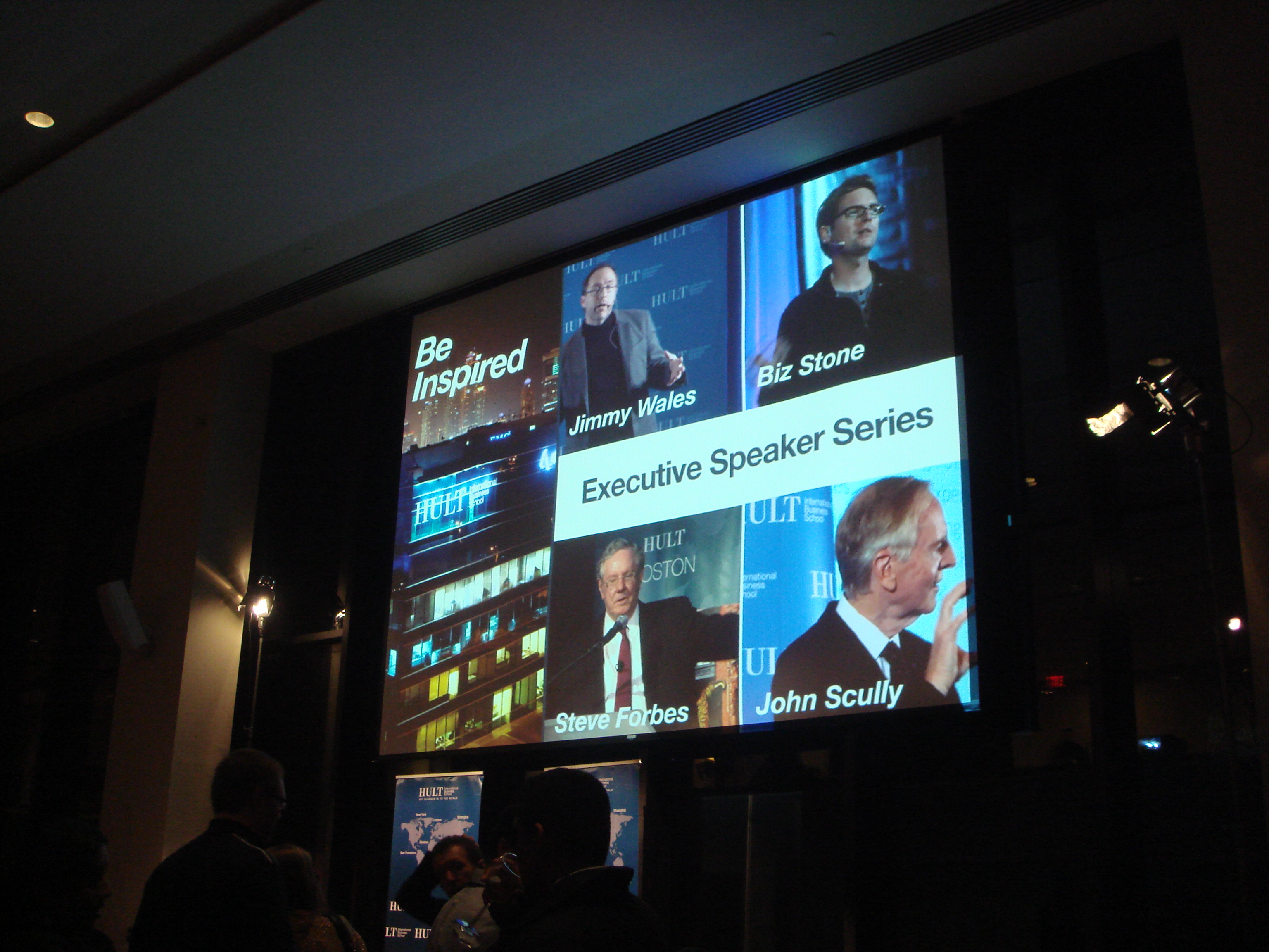 Hult Executive Speaker Series 2013