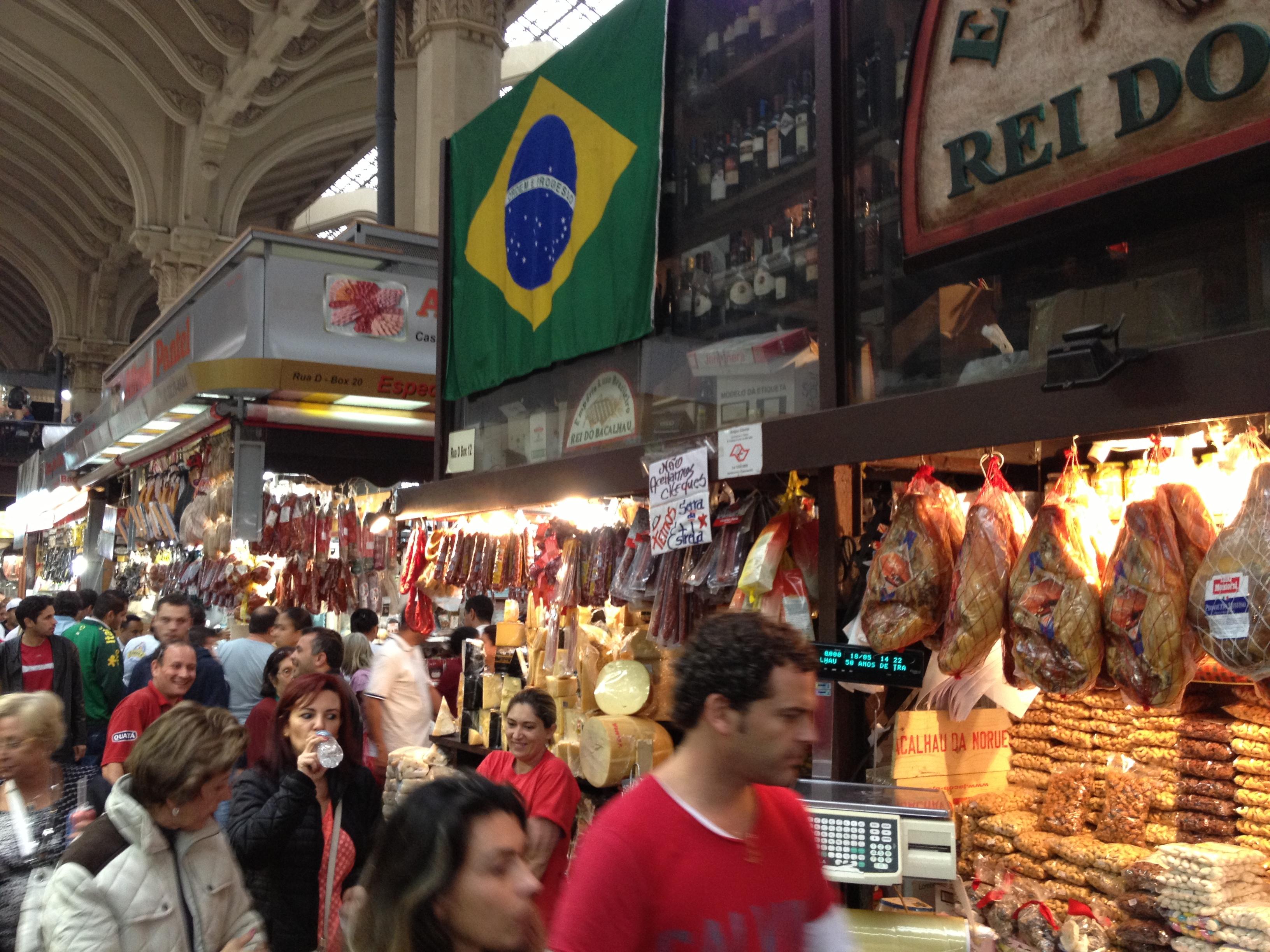 サンパウロの市場