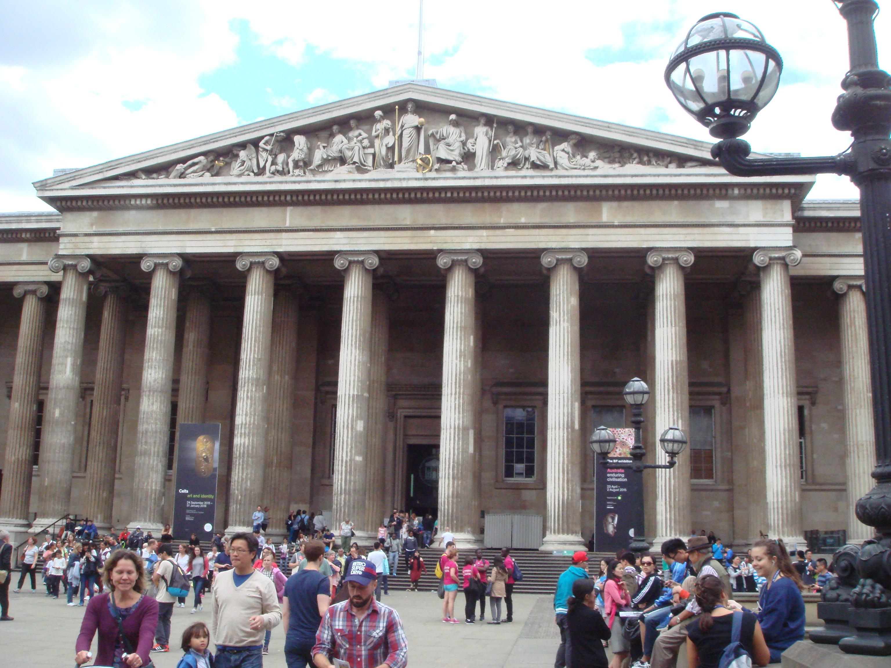 大英博物館(British Museum)はHultロンドンキャンパスから近い